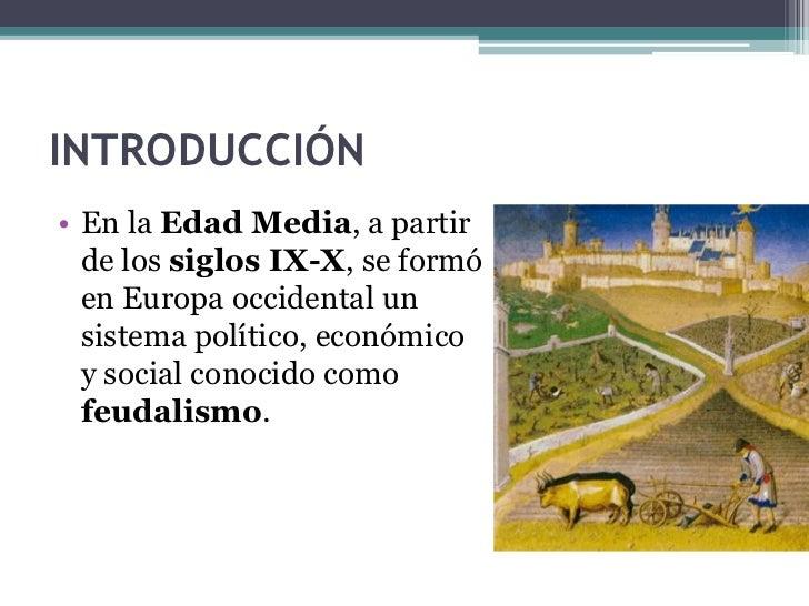LA EUROPA FEUDAL Slide 3