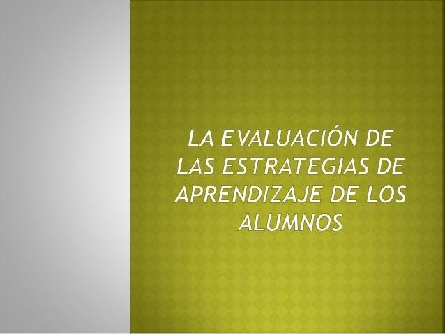 La evaluación es de basta utilidad además de ser indispensable para el desarrollo de diversas habilidades por parte del al...