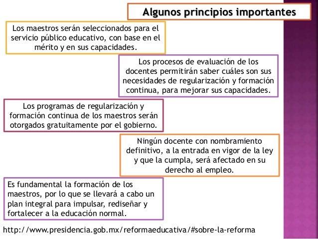 La evaluaci n del desempe o docente reforma educativa 2013 for La accion educativa en el exterior