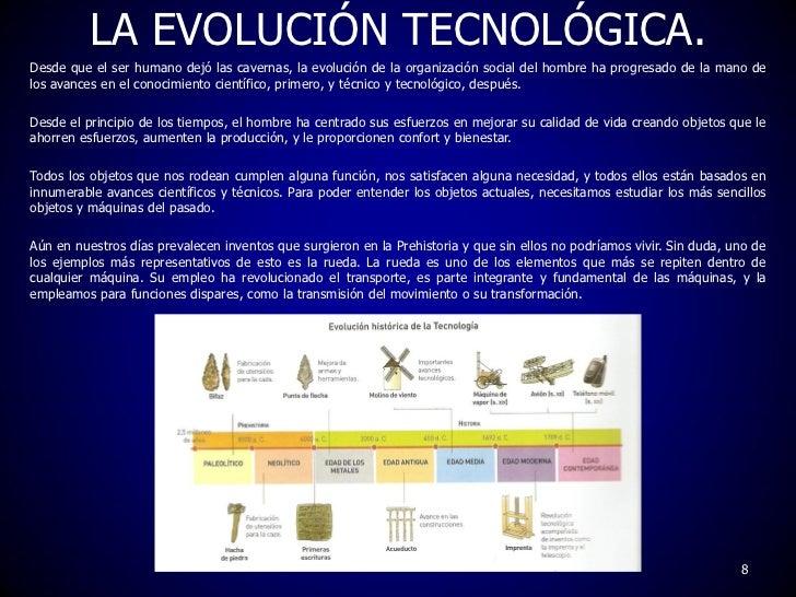 artefactos o invenciones que el hombre fue desarrollando