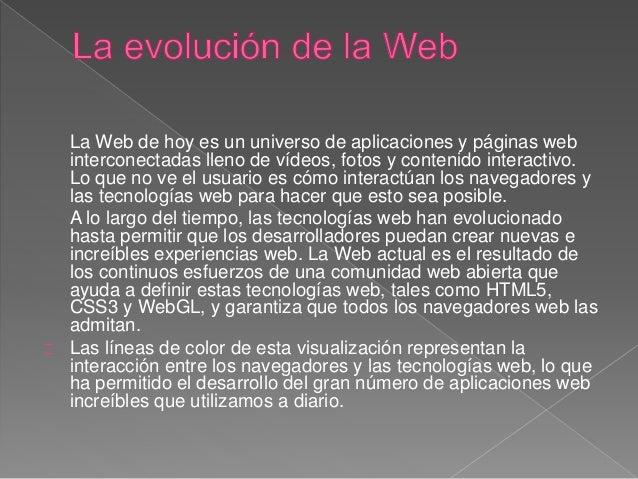 La evolución de la web Slide 2