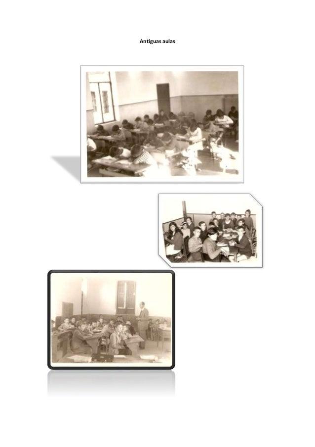 Antiguas aulas