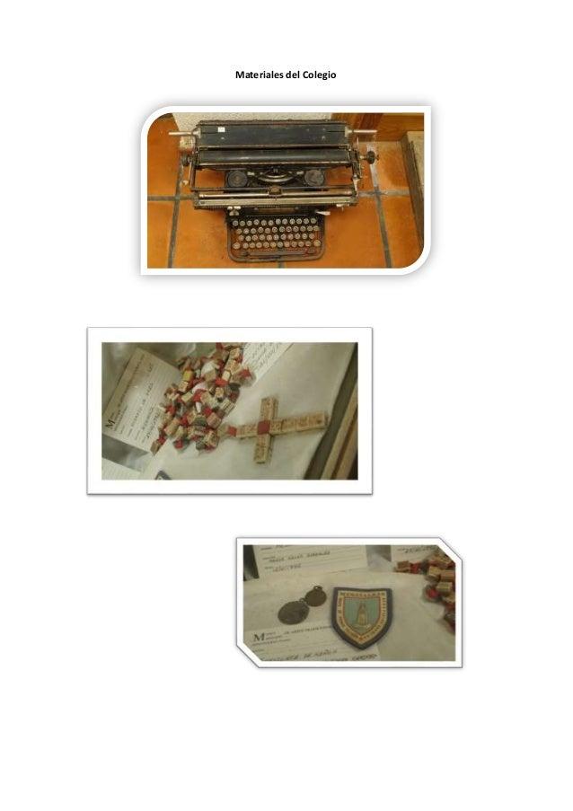 Materiales del Colegio