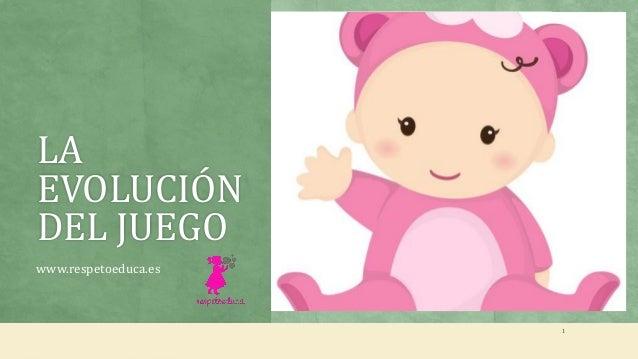 LA EVOLUCIÓN DEL JUEGO www.respetoeduca.es 1