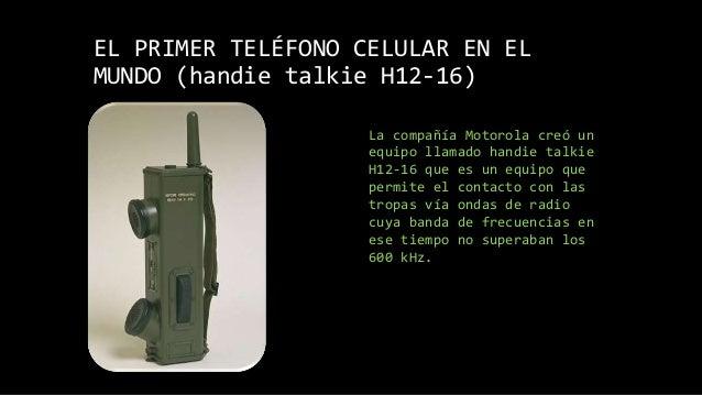 72139a7f042 La evolución de los celulares