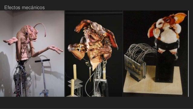 Resultado de imagen de efectos especiales mecánicos