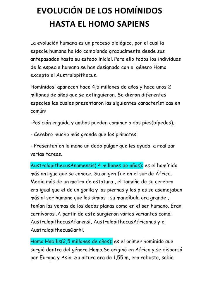 -80010-775969EVOLUCIÓN DE LOS HOMÍNIDOS                  HASTA EL HOMO SAPIENS00EVOLUCIÓN DE LOS HOMÍNIDOS                ...