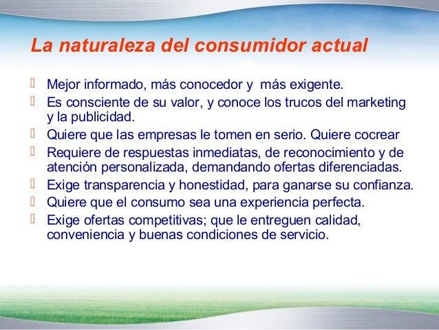 Los 10 principios del Nuevo Marketing  que propone Philip Kotler  1. Reconocer que el poder, ahora lo tiene el consumidor ...
