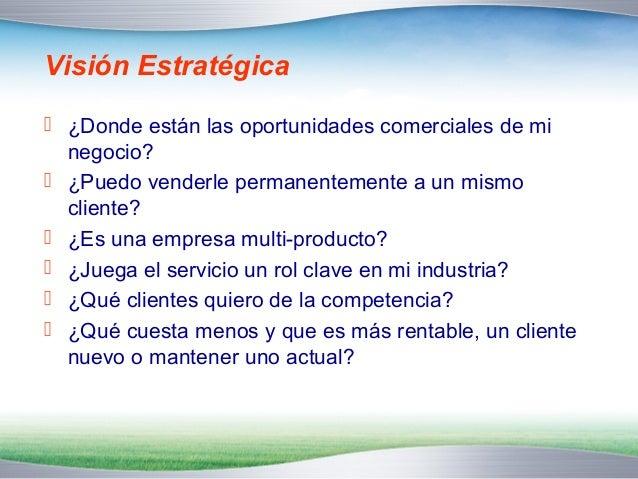 Información   ¿Cuál es la información que requiero para maximizar  el potencial comercial de los clientes?  Demográfica ...