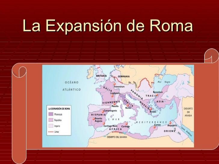 La Expansión de Roma