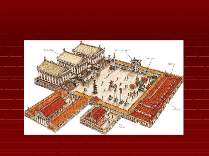 Las basílicas Se utilizaban como centros de reunión,  administración de justicia y mercado Más adelante, los cristianos ...