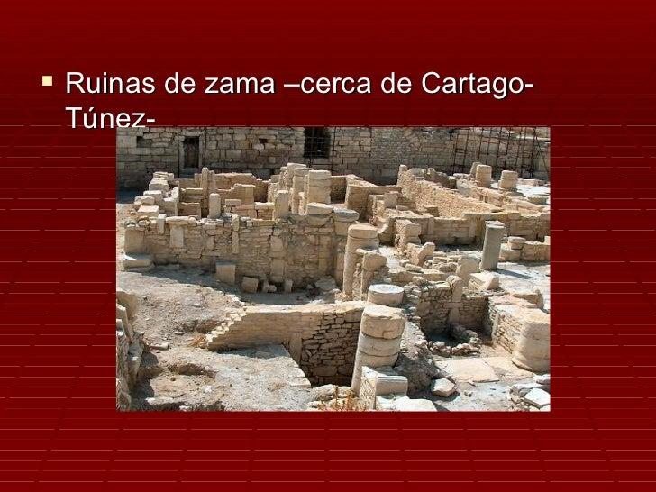  Ruinas de zama –cerca de Cartago- Túnez-