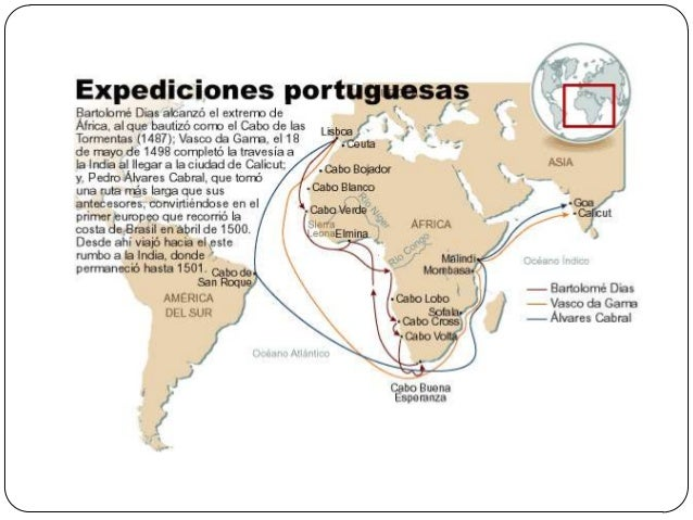  Portugal se transformó en un Imperio colonialque se extendía desde las costas del Norte deÁfrica hasta los mares del sud...