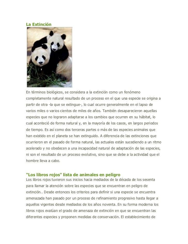 """HYPERLINK """"http://animalesenextincion-fg.blogspot.com/2007/08/la-extincion_08.html"""" La Extinción <br />En términos biológ..."""