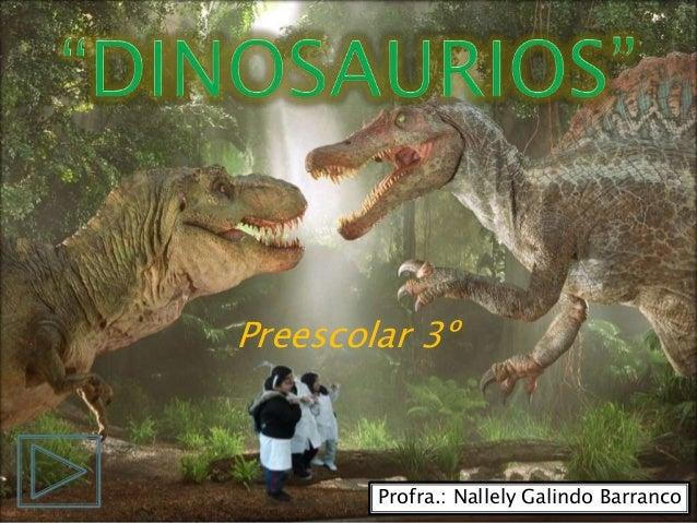 Preescolar 3º Profra.: Nallely Galindo Barranco