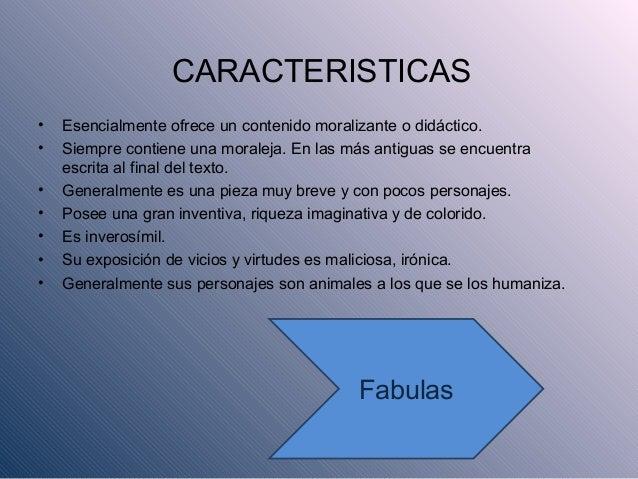 La fabula presentacion power point for Que es una oficina y sus caracteristicas