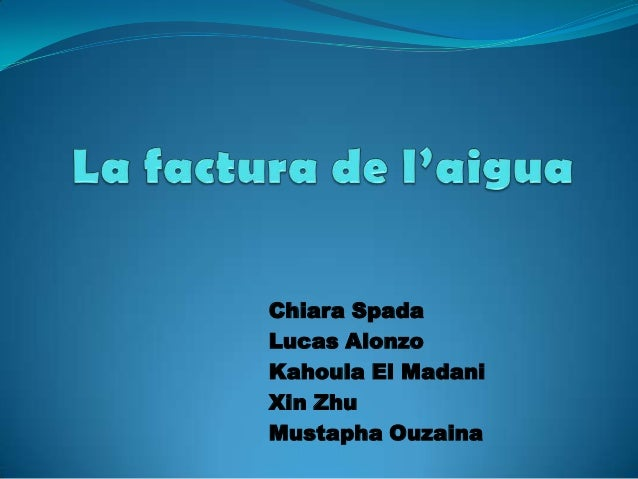 Chiara SpadaLucas AlonzoKahoula El MadaniXin ZhuMustapha Ouzaina