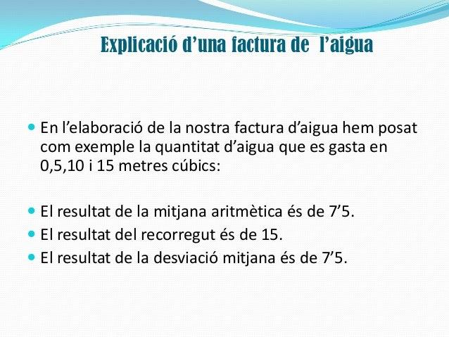 La factura d'aigua Slide 3
