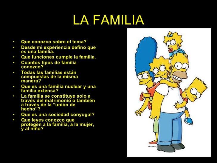 La familia. Por BOB S.M.
