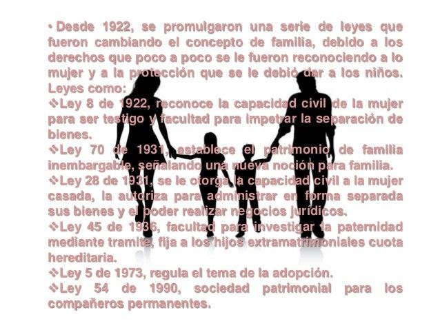 La familia evolucion del concepto de familia en el ambito for Concepto de la familia para ninos