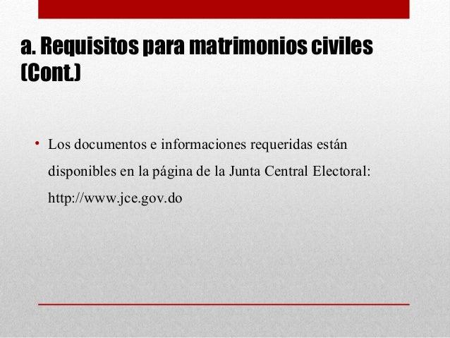 Requisitos para casarse en republica dominicana requisitos para casarse en republica dominicana - Requisitos para casarse ...
