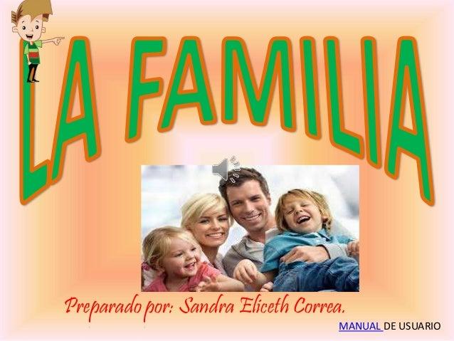 Preparado por: Sandra Eliceth Correa.  MANUAL DE USUARIO