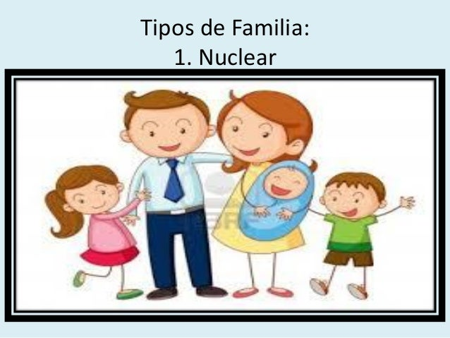 La familia 1 Tipos de familia nuclear