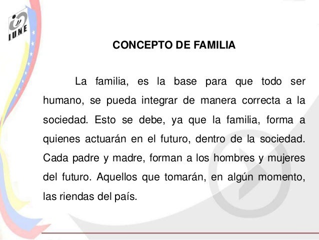 1 Concepto De Familia Cancer Treatment