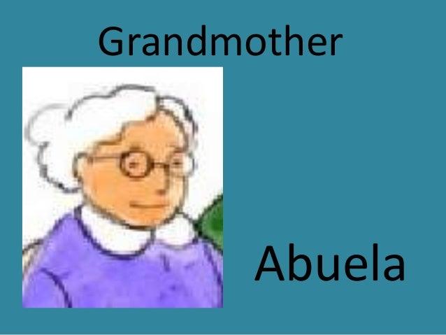 Inglés abuela
