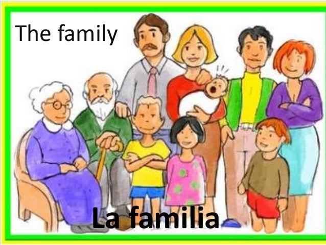 La familia bilingue