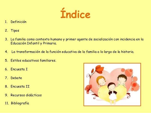 La familia  Slide 2