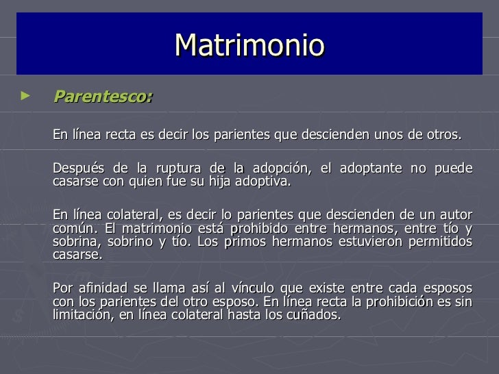 Matrimonio Catolico Entre Primos Hermanos : La familia en el derecho romano