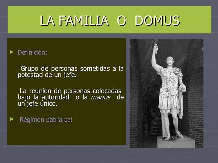 El Matrimonio Romano Monografias : La familia en el derecho romano