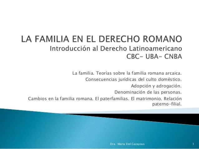 Matrimonio En El Derecho Romano Utpl : La familia en el derecho romano