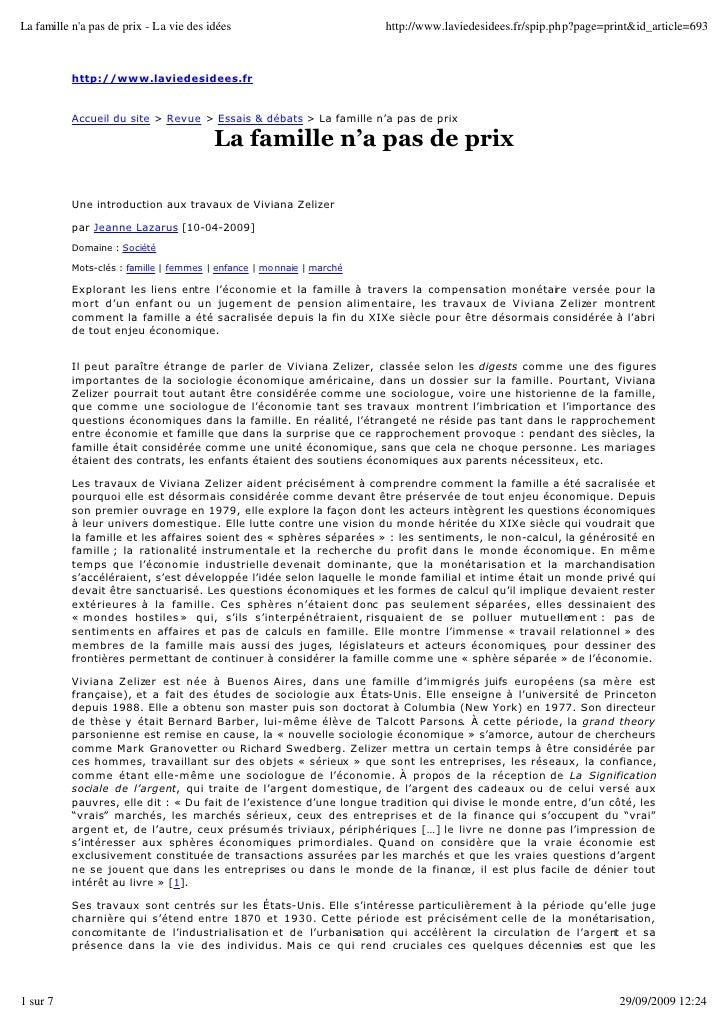 La famille n'a pas de prix - La vie des idées                          http://www.laviedesidees.fr/spip.php?page=print&id_...