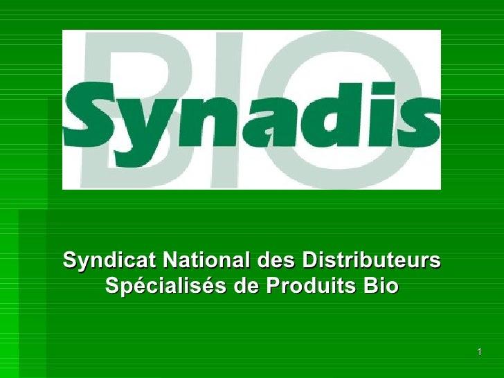 Syndicat National des Distributeurs Spécialisés de Produits Bio