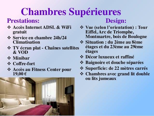 Centre de remise en forme:Situé au 34 ème étage de l'hôtelConcorde Lafayette, notre sallede remise en forme vous offre unm...