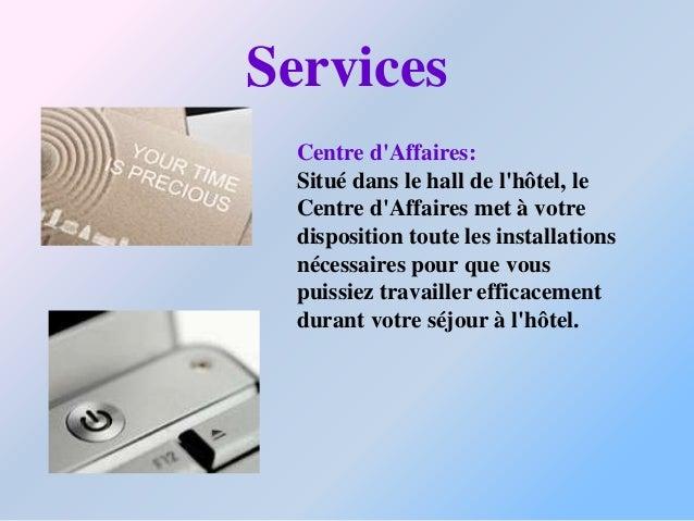 Les équipementsL hotel posséde:Un parking gratuit:Restauración:Restaurant La FayetteBar La FayettePanoramic Bar - The Vi...