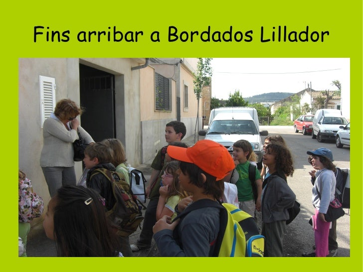 Fins arribar a Bordados Lillador