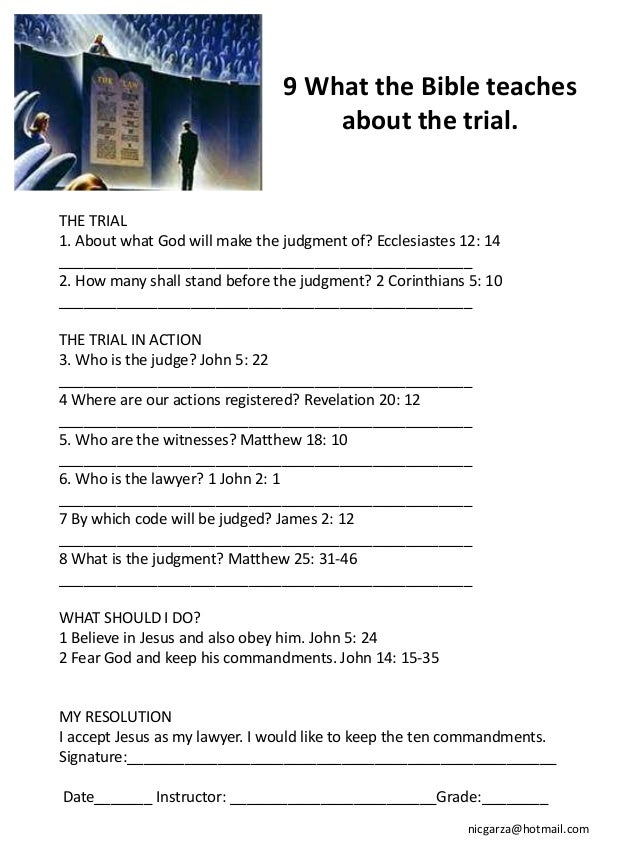 10 What the Bible teaches                                          about Gods holy law.IMPORTANCE OF HOLY LAW1. Who and ho...