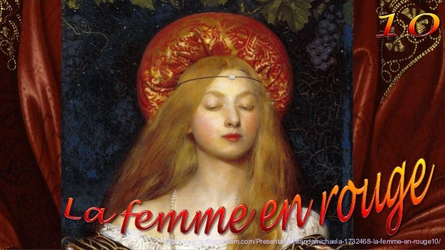 http://www.authorstream.com/Presentation/sandamichaela-1732468-la-femme-en-rouge10/