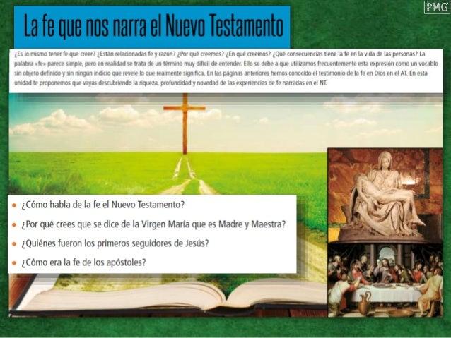 Ellos creyeron. Las primeras comunidades Dificultades para creer ayer y hoy Nuevo Testamento Expresi�n de la experiencia d...