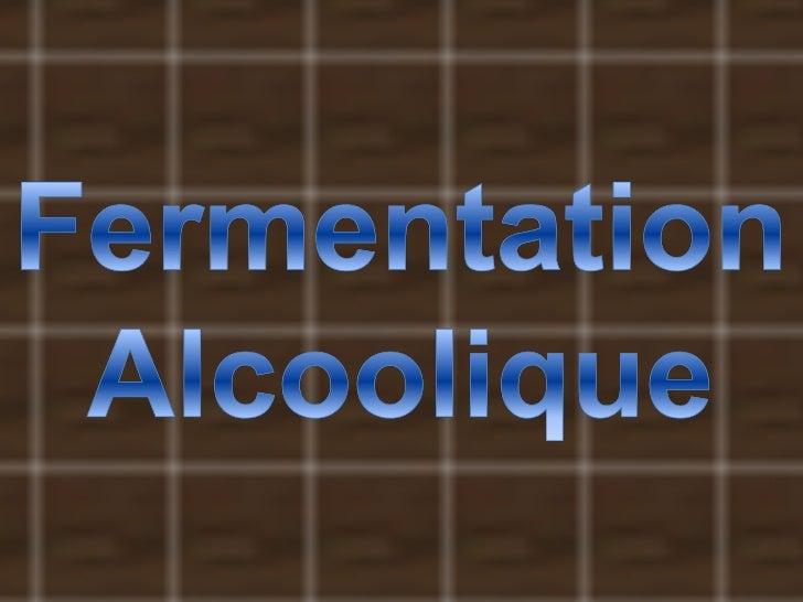 La fermentation alcoolique alan y dano Slide 1