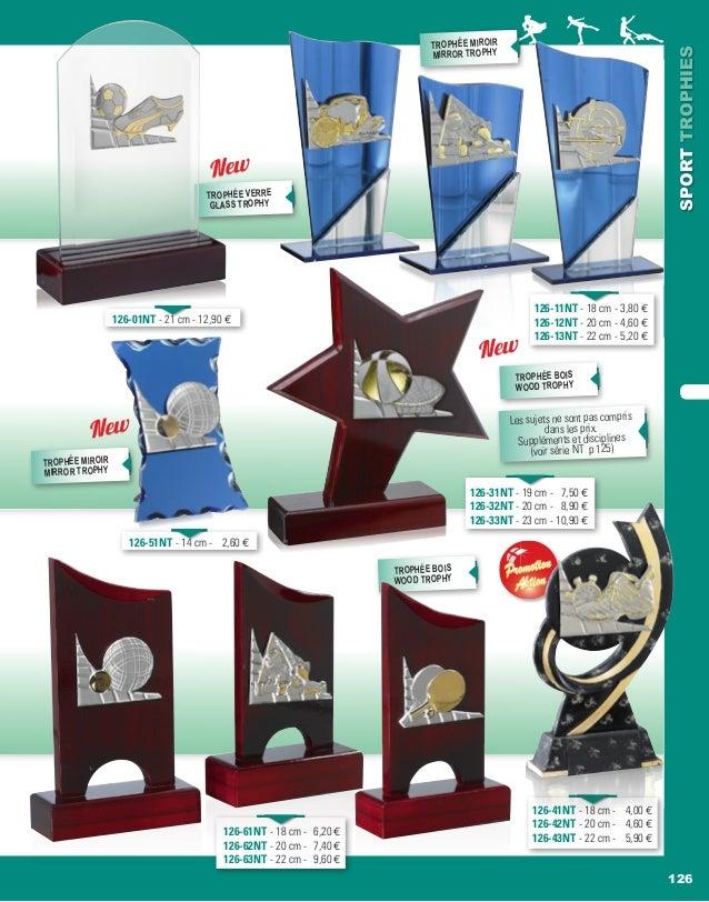 126 SPORTTROPHIES PromotionPromotion AktionAktion 126-51NT - 14 cm -  2,60 e 126-61NT - 18 cm - 6,20 e 126-62NT - 20 cm - ...