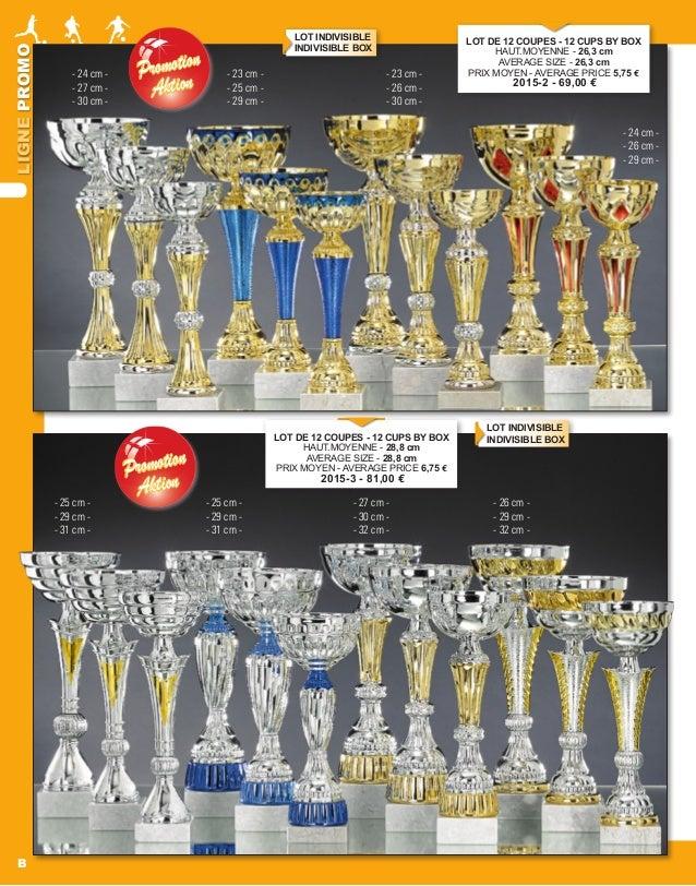 LIGNEPROMO B PromotionPromotion AktionAktion PromotionPromotion AktionAktion LOT DE 12 COUPES - 12 CUPS BY BOX HAUT.MOYENN...