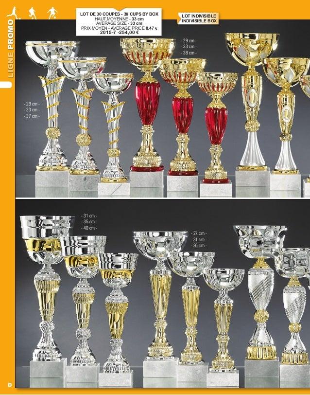 LIGNEPROMO D - 27 cm - - 31 cm - - 36 cm - - 31 cm - - 35 cm - - 40 cm - LOT DE 30 COUPES - 30 CUPS BY BOX HAUT.MOYENNE - ...