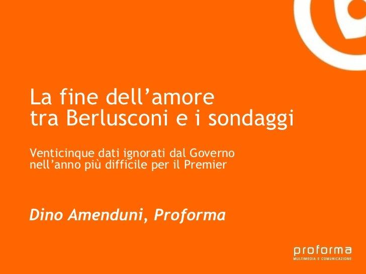 Strategia di comunicazione Gianni Florido e la Provincia di Taranto La fine dell'amore  tra Berlusconi e i sondaggi Ventic...
