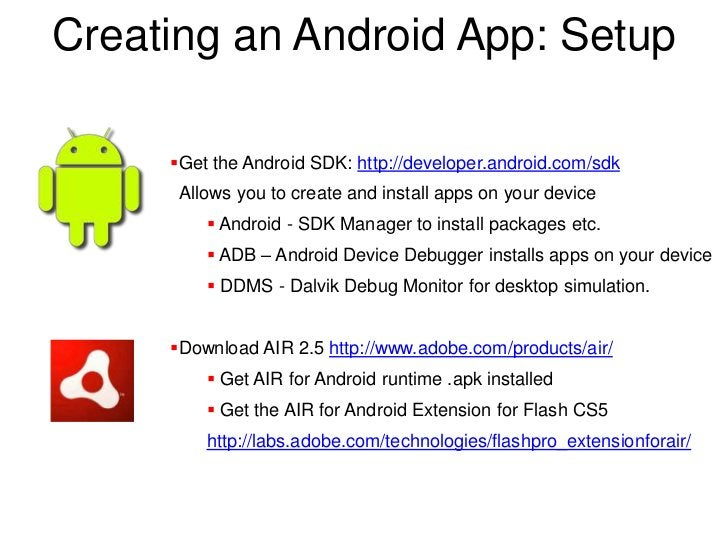Developing AIR for Android with Flash Professional