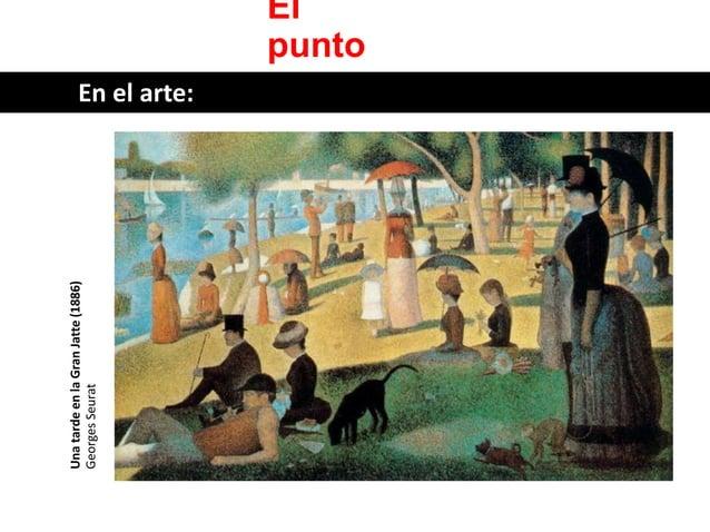 El punto  Una tarde en la Gran Jatte (1886)  Georges Seurat  En el arte: