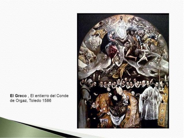 El Greco ,  El entierro del Conde de Orgaz,  Toledo 1586